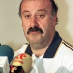"""Vicente del Bosque: Spain's coach has been sporting a thick,bushy tash ever since he played for Real Madrid in the 70s. """"I only give it a trim from time to time,"""" he told Spanish radio station Cadena Ser.Photo: Marie Hippenmeter/AFP"""
