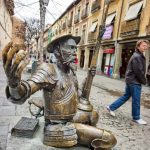"""Although Miguel de Cervantes' famous invention Don Quixote is usually pictured with a pointy goatee beard, the majesty of the accompanying moustache is not to be underestimated. Perhaps this is what the gentleman of La Mancha meant when he said: """"Thou hast seen nothing yet!""""Photo: Promomadrid"""