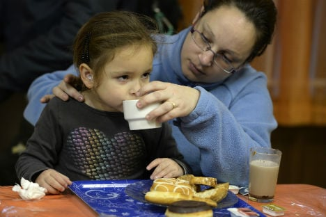 Spanish demand for soup kitchens on the rise
