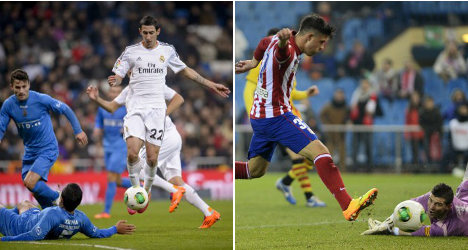 Real Madrid and Atlético into last 16 of King's Cup
