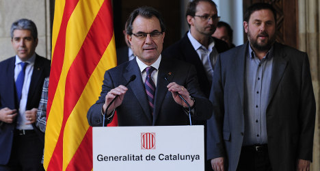 Defiant Catalonia plans 2014 independence vote