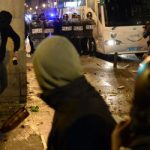 Protesters take to streets over 'fascist' fines
