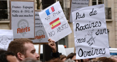 'Spain's abortion law is pure ideology': Le Monde