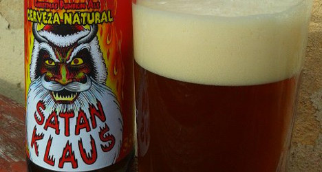 Beer maker launches 'satanic' Christmas brew