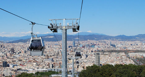 Cable car fail: 70 trapped in Barcelona breakdown