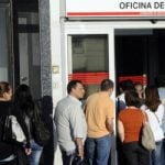 Spain's jobless rate back up to 26 percent