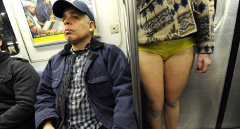 No Pants Day: global stripping craze hits Spain