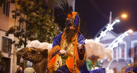Pic of the day: Spain's crazy Christmas parade