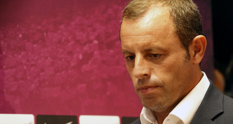 Barça boss to quit over fraud claims: Reports