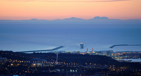 Pic of the day: View of Majorca from Barcelona
