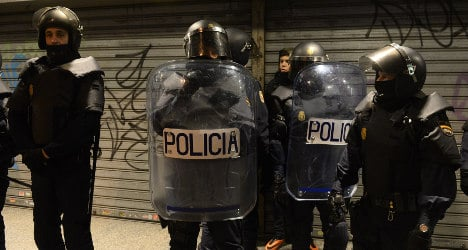 Judge frees fireman arrested in Madrid riot