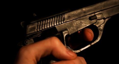 Homeless man shoots himself in testicles