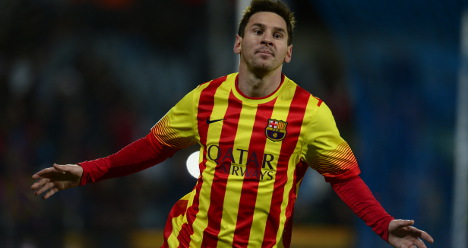 Messi stars as Barça cruise into Cup quarters