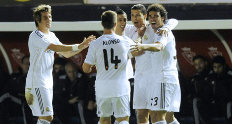 Ronaldo's Real cruise into Cup quarters
