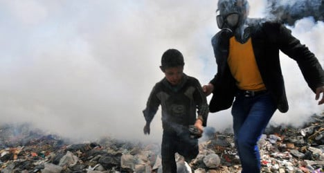 'We want to put Syrian chemical waste in Spain'
