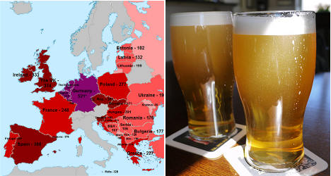 Spain not merry about European Beer Index