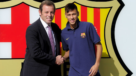 Barcelona faces charges over Neymar deal