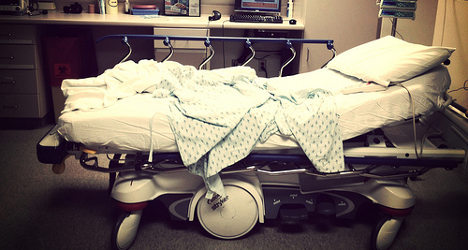 Hospital tells patients to bring own pillows