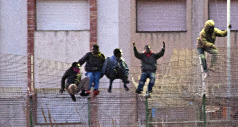 Spain border assault 'one of biggest in years'