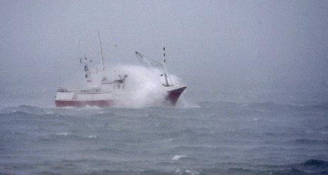 Filipino sailors rescued as storms batter Spain