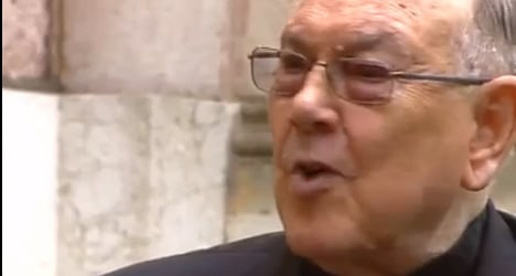 Spanish cardinal probed for 'inciting anti-gay hate'