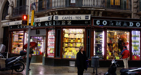 'Barcelona's oldest shops could soon be history'