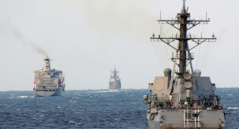 US Syrian weapon destroyer stops in Spain