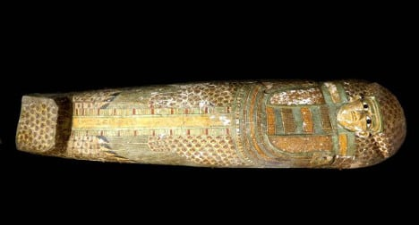 Ancient Egyptian mummy unearthed by Spaniards