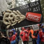 Coke staff stage protest over plant closures