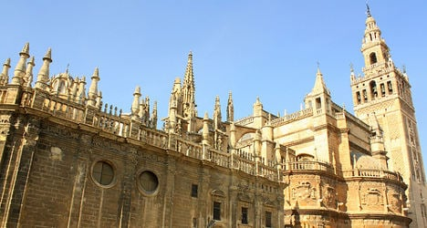Rising seas could drown Spanish cathedral