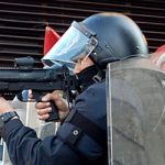 Protester loses testicle in rubber bullet attack