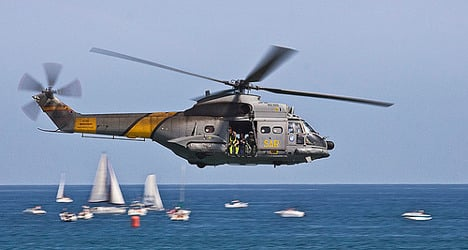 Four missing after army helicopter explodes