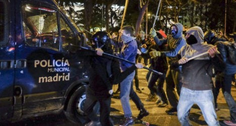 'Radicals want to ruin Spain's democracy'