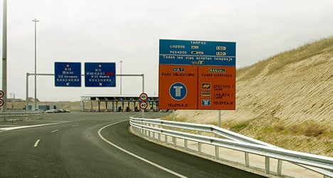 €2.4 billion bailout for Spain's 'ghost' roads