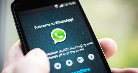 Serial texter suffers first case of 'WhatsAppitis'