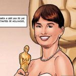 In 2008, Cruz won the Oscar for best actress in a supporting role for Vicky Cristina Barcelona.Photo: Korat Comics