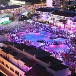USHUAIA IBIZA BEACH HOTEL, Playa d'en Bossa, Ibiza (€€€): If your idea of a perfect hotel is plenty of rest and relaxation then this hotel is definitely NOT for you. Instead, Ushuaia is a place where you can watch internationally renowned DJs from the comfort of your own room. Viva la fiesta!Photo: www.ushuaiabeachhotel.com