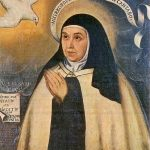 SAINT TERESA OF AVILA: Born in Ávila in 1515, Teresa was a prominent Spanish mystic, a key Counter Reformation figure and theologian of contemplative life through mental prayer. She was canonized forty years after her death and is a key figure among Catholic believers in Spain.Photo: Wikimedia