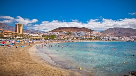 Struggling Swedes beg in Spain's tourist hotspots