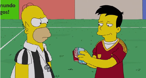 Bull running and bribes: Spain in The Simpsons