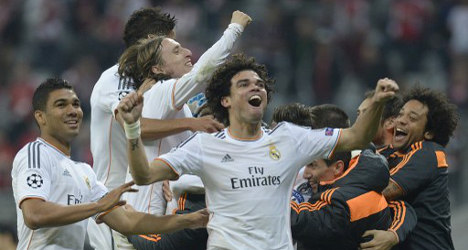 Real Madrid storm into Champions League final