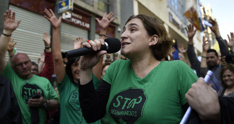 Spanish bank feels heat over homes evictions
