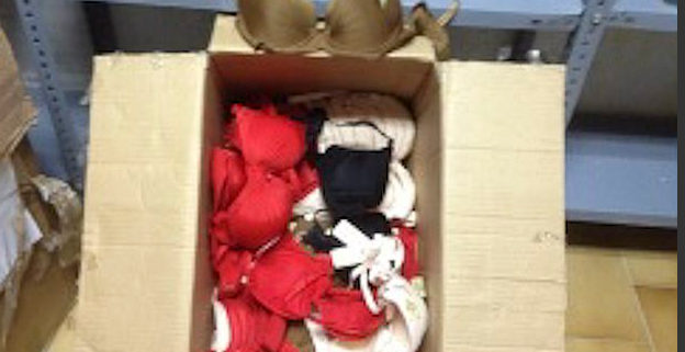 Spanish tax office sells bras for extra cash