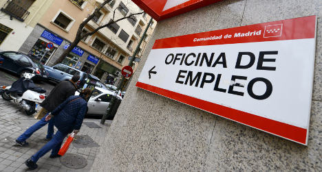Spain's jobless numbers dip in March