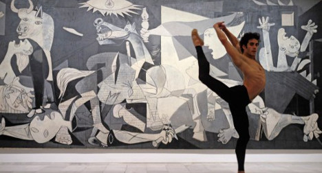 Dancer puts new twist on Picasso painting