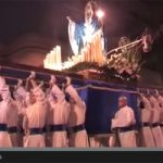 VIDEO: Virgin falls from float in Easter fail