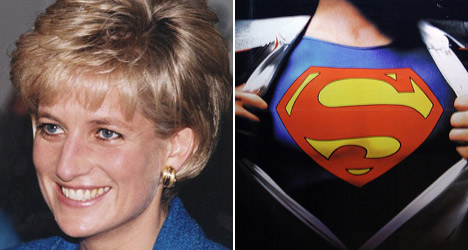 It's official: Lady Di and Superman live in Spain