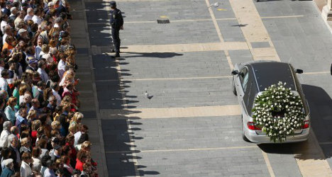 Are Spaniards justifying politician's murder?