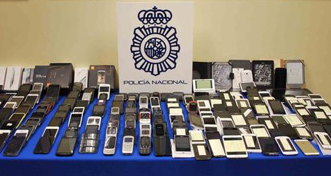 Had your phone stolen in Spain? It could be here