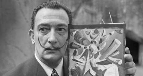 Identified: Two 'new' Dali paintings in US